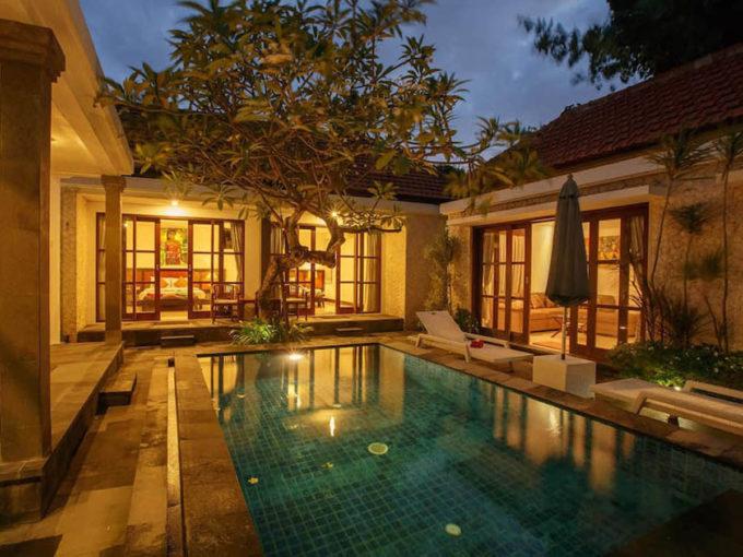 Bali Sanur beach villas 00