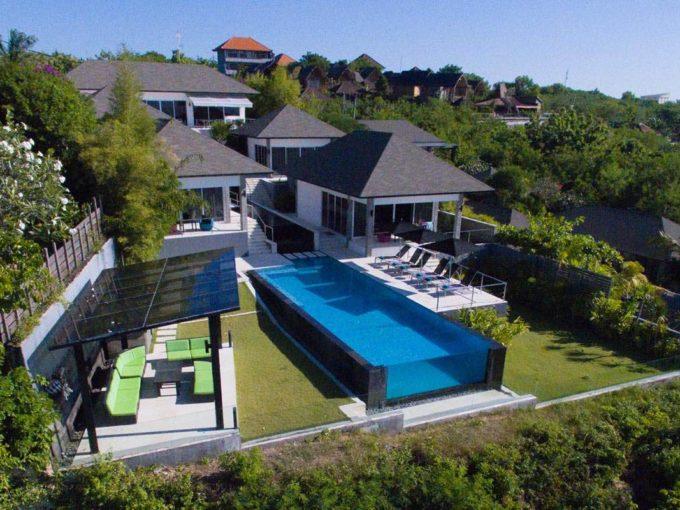 Oceanfront Suluban Cliff Villa -1